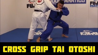 Cross Grip Tai Otoshi By Andy Hung