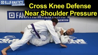 Cross Knee Defense Near Shoulder Pressure By Xande Ribeiro