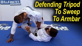 Defending Tripod To Sweep To Armbar by Hiago Gama