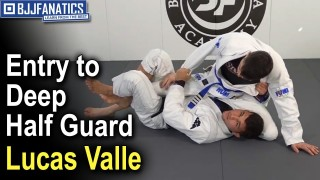 Entry to Deep Half Guard by Lucas Valle