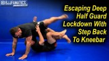 Escaping Deep Half Guard Lockdown With Step Back To Kneebar by Tom DeBlass