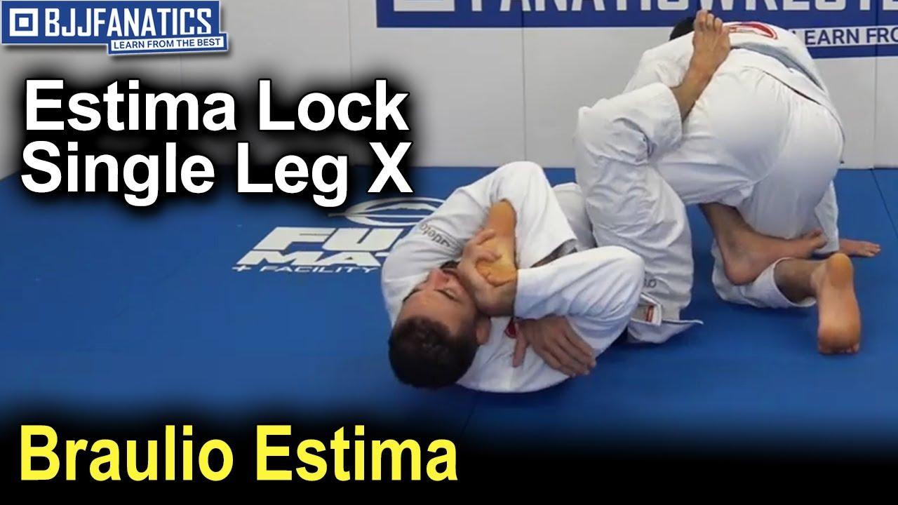 Estima Lock – Single Leg X – Toe Hold by Braulio Estima
