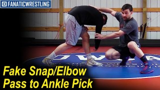 Fake Snap/Elbow Pass to Ankle Pick by Dan Vallimont