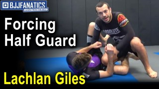 Forcing Half Guard – Clearing Line of Feet by Lachlan Giles
