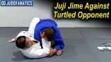 Juji Jime Against Turtled Opponent by Satoshi Ishii
