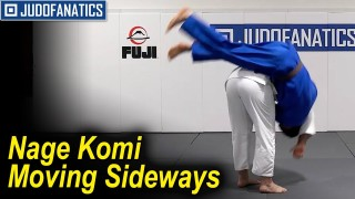 Learn the Nage Komi Moving Sideways with Travis Stevens