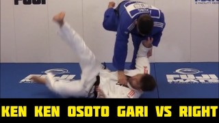 Osoto Gari, Ken Ken Osoto Vs Right By Andy Hung