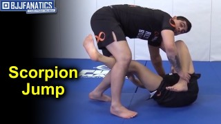 Scorpion Jump BJJ Move by Manuel Ribamar