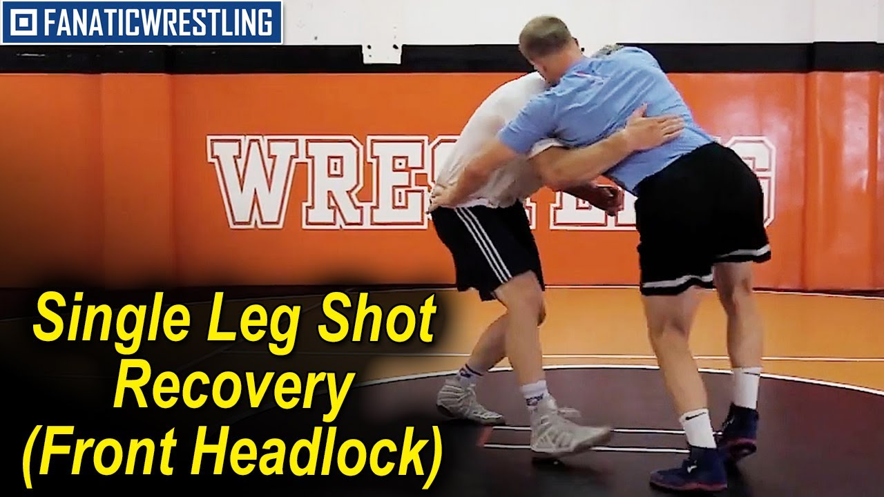 Single Leg Shot Recovery (Front Headlock) by Hayden Zillmer