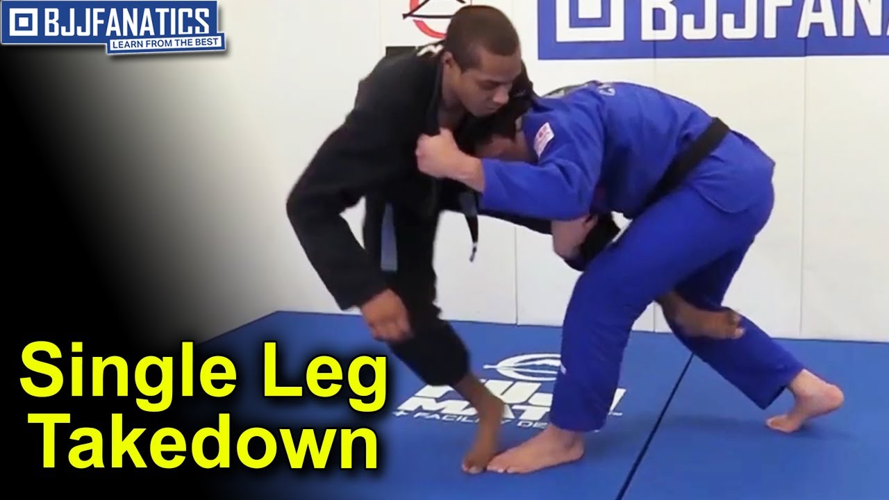 Single Leg Takedown by Arnaldo Maidana