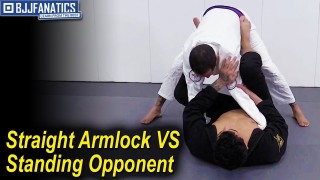 Straight Armlock vs Standing Opponent by Rudson Mateus