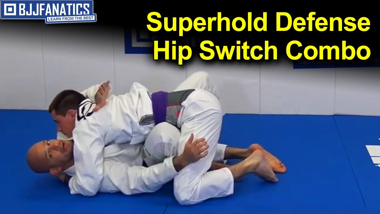 Superhold Defense Hip Switch Combo by Xande Ribeiro