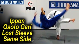 The Crucial Steps To The Ippon Osoto Gari Lost Sleeve Same Side by Travis Stevens