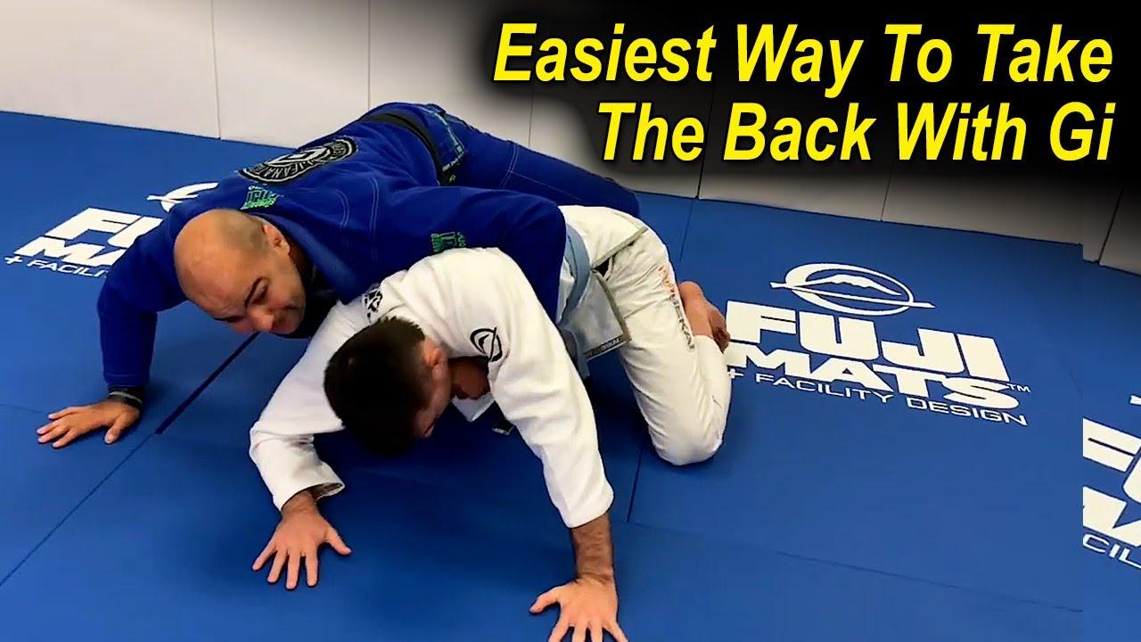 The Easiest Way To Take The Back With Gi In Jiu Jitsu by Bernardo Faria