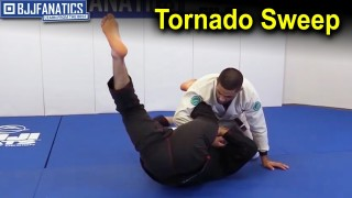 "Tornado Sweep – BJJ Techniques by Vinicius ""Tractor"" Ferreira"
