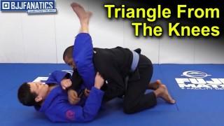 Triangle From the Knees by Arnaldo Maidana