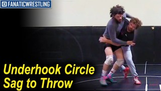 Underhook Circle Sag to Throw By by Pat Smith