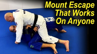 A Jiu Jitsu Mount Escape That Works Against Anyone by Xande Ribeiro