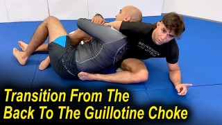 A Jiu Jitsu Transition From The Back To The Guillotine Choke That You Have Never Seen by Garry Tonon