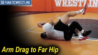 Arm Drag to Far Hip by Daniel DeShazer