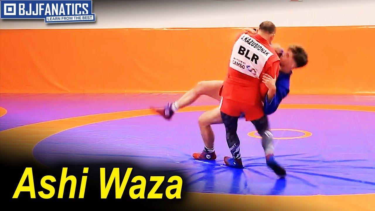 Ashi Waza Technique by Andrei Kazusenok
