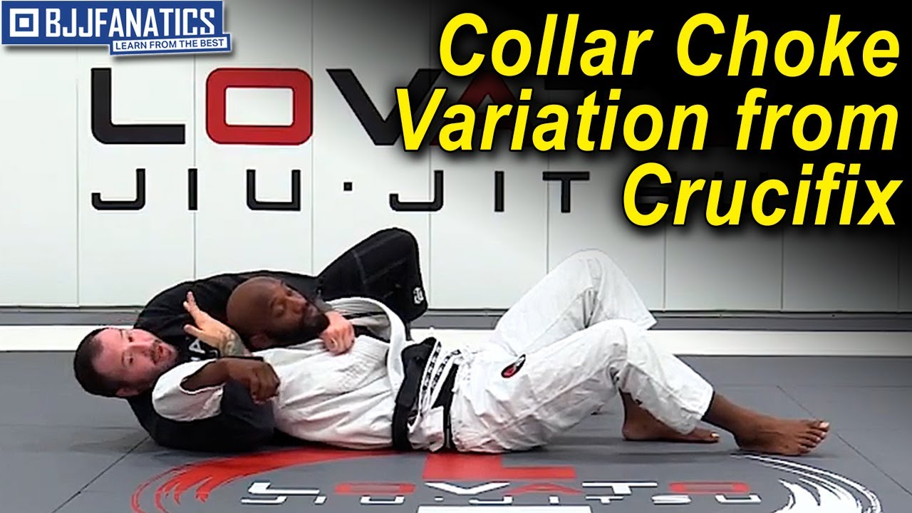 Collar Choke Variation from Crucifix Position by Dallas Niles