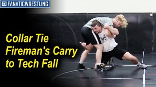 Collar Tie Fireman's Carry to Tech Fall by Nazar Kulchytskyy