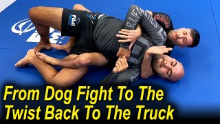Crazy BJJ No Gi Move – From The Dog Fight To The Twist Back To The Truck by Geo Martinez