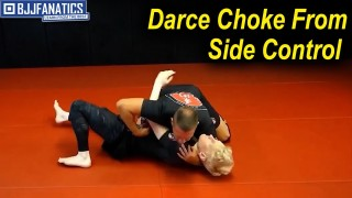 Darce Choke From Side Control from Troy Manning