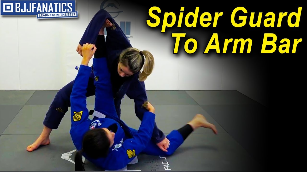 From Spider Guard To Arm Bar by Thamires Acquino