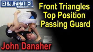 Front Triangles Top Position Passing Guard by John Danaher