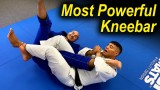How To Do The Most Powerful BJJ Kneebar by Victor Hugo