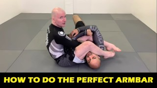 How To Do The Perfect Armbar by John Danaher