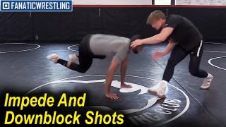 Impede And Downblock Shots by Nate Jackson