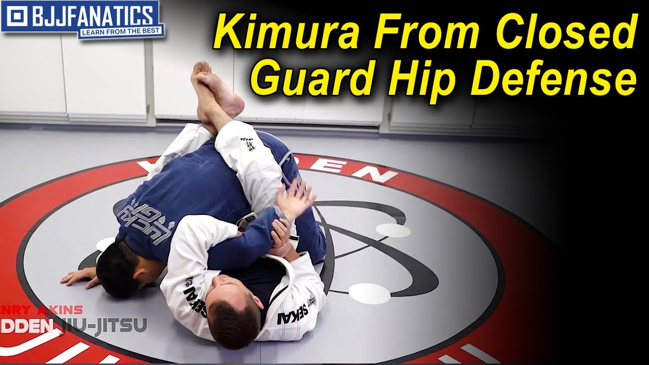 Kimura From Closed Guard Hip Defense by Henry Akins