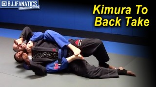 Kimura to a Back Take by Ante Dzolic