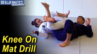 Knee On the Mat Drill by Mikey Musumeci