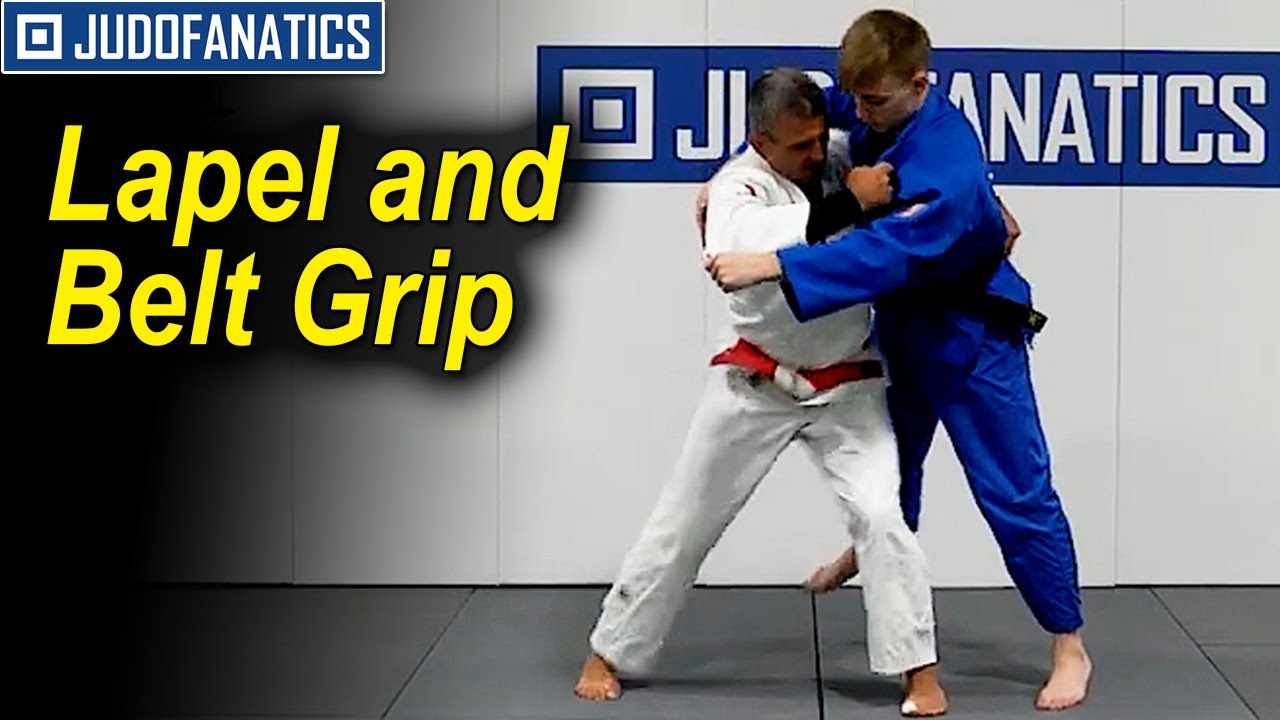 Lapel and Belt Grip by Jimmy Pedro