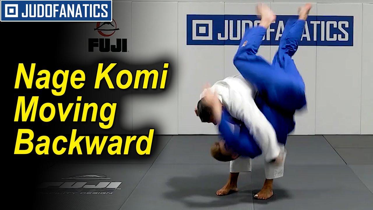 Nage Komi Moving Backward by Jimmy Pedro