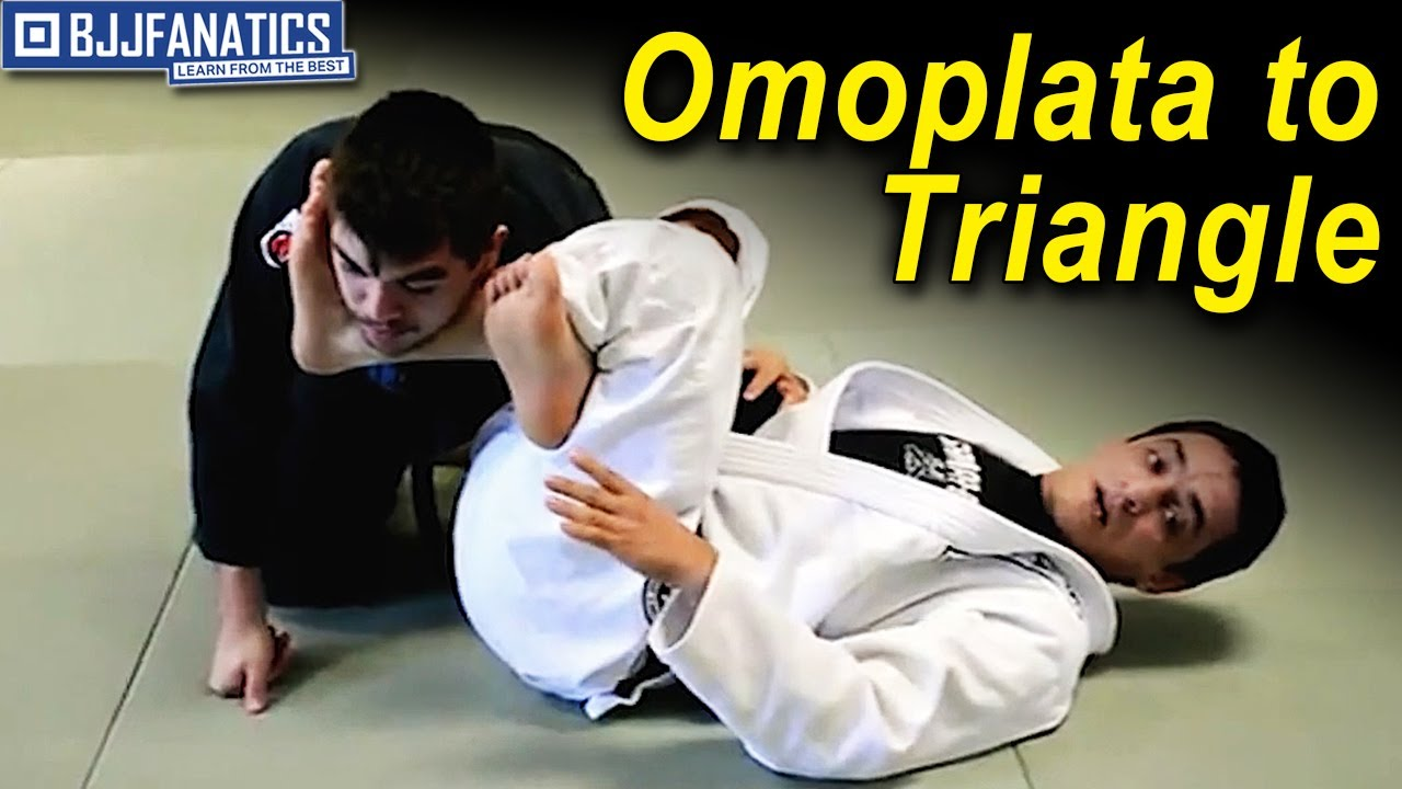 Omoplata to Triangle by Renato Migliaccio