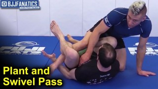 Plant & Swivel Pass – BJJ Move by PJ Barch