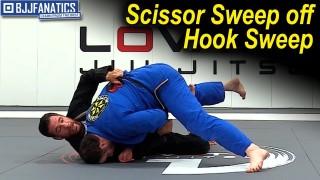 Scissor Sweep off Hook Sweep by Rafael Lovato Jr.