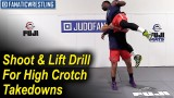 Shoot and Lift Drill For High Crotch Takedowns by Dan Vallimont