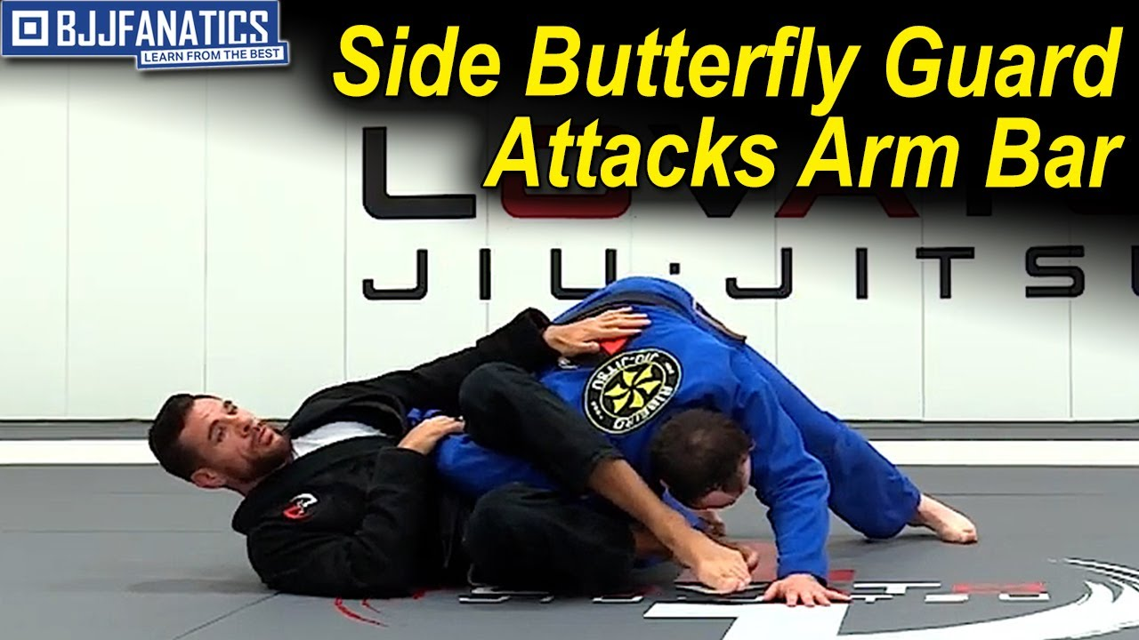 Side Butterfly Guard Attacks Arm Bar by Rafael Lovato Jr.