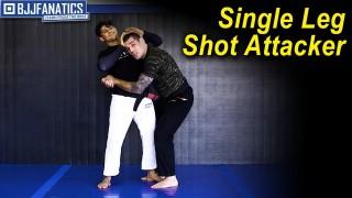 Single Leg Shot Attacker by Joao Assis