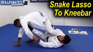 Snake Lasso To Kneebar by Hiago Gama