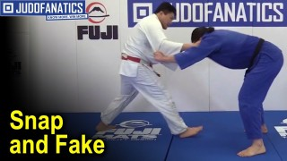 Snap and Fake – Judo Technique by Shintaro Higashi