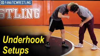 Underhook Setups by Zach Sanders