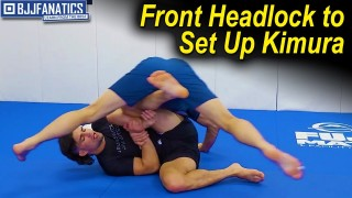 Using the Front Headlock to Set Up Kimura by Garry Tonon