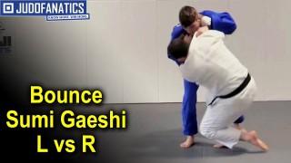 Bounce Sumi Gaeshi L vs R by Travis Stevens